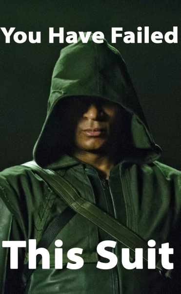 """Diggle """"You Have Failed This Suit"""""""